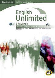 ENGLISH UNLIMITED ADVANCED SELF-STUDY PACK + DVD ROM