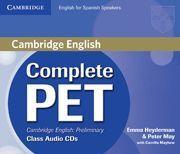 COMPLETE PET CLASS AUDIO CD´S ( 4 )