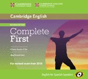 COMPLETE FIRST CLASS AUDIO CD´S 2ª ED. ED. 2015
