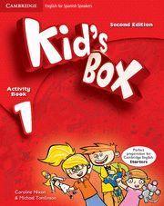 KID´S BOX 1 ACTIVITY BOOK 2ª EDITION ( 2014 )