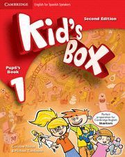 KID´S BOX 1 PUPIL´S BOOK 2ª EDITION ( 2014 )