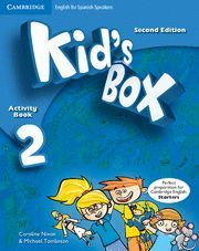 KID´S BOX 2 ACTIVITY BOOK  2ª EDITION ( 2014 )