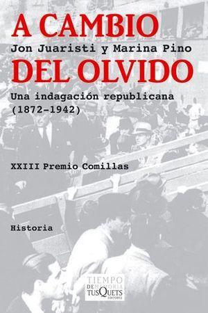 A CAMBIO DEL OLVIDO