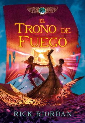KANE EL TRONO DE FUEGO