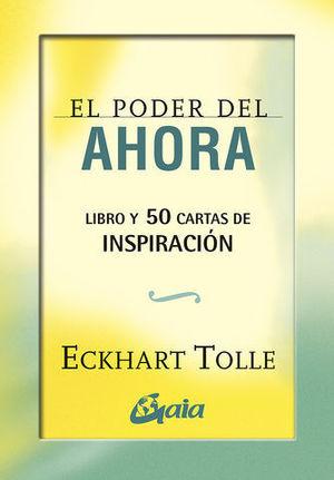 EL PODER DEL AHORA ( CARTAS DE INSPIRACION )