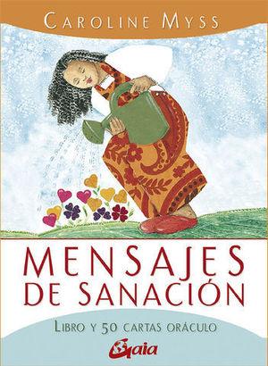 MENSAUES DE SANACION / LIBRO Y 50 CARTAS ORACULO