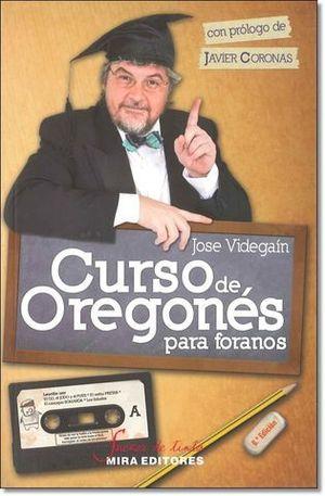 CURSO DE OREGONES PARA FORANOS