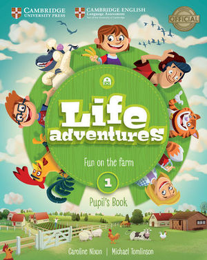 LIFE ADVENTURES 1 PUPIL´S BOOK ED. 2018