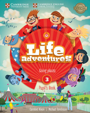 LIFE ADVENTURES 3 PUPIL´S BOOK ED. 2018