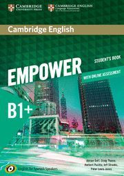 EMPOWER B1+ STUDENT´S BOOK