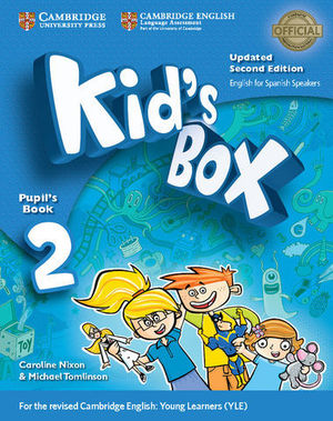 KID´S BOX 2 FOR SPANISH SPEAKERS 2ª ED. PUPIL´S BOOK  ED. 2017