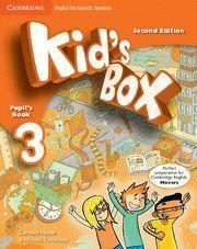 KID´S BOX 3 PUPIL´S BOOK 2ª EDITION