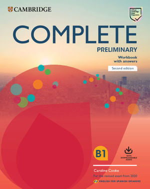 COMPLETE PRELIMINARY WORKBOOK WITH ANSWERS 2ª ED. 2019