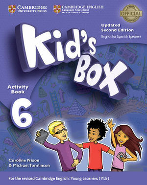 KID´S BOX 6 FOR SPANISH SPEAKERS 2ª ED. ACTIVITY BOOK  ED. 2017