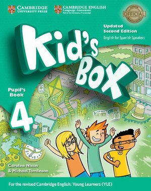 KID´S BOX 4 FOR SPANISH SPEAKERS 2ª ED. PUPIL´S BOOK  ED. 2017