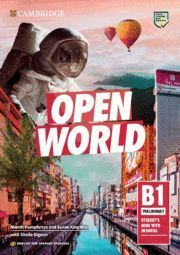 OPEN WORLD B1 PRELIMINARY STUDENT´S WITH ANSWERS