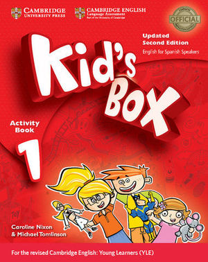 KID´S BOX 1 FOR SPANISH SPEAKERS 2ª ED. ACTIVITY BOOK  ED. 2017