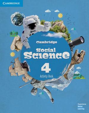 SOCIAL SCIENCE 4º EP ACTIVITY BOOK