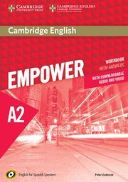 EMPOWER A2 WORKBOOK WITH ANSWERS