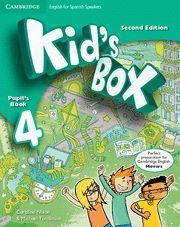 KID´S BOX 4 PUPIL´S BOOK 2ª EDITION