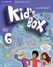 KID´S BOX 6 PUPIL´S BOOK 2ª EDITION