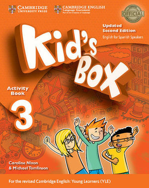 KID´S BOX 3 FOR SPANISH SPEAKERS 2ª ED. ACTIVITY BOOK  ED. 2017