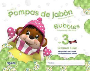POMPAS DE JABON BILINGUE 3 AÑOS SEGUNDO TRIMESTRE