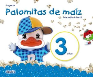 PALOMITAS DE MAIZ 3 AÑOS PACK  ED. 2018