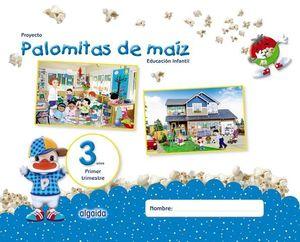 PALOMITAS DE MAIZ 3 AÑOS  1º TRIMESTRE  ED. 2018