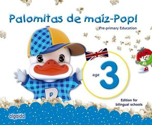 PALOMITAS DE MAIZ POP !  3 AÑOS PACK BILINGUE  ED. 2018