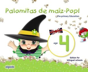 PALOMITAS DE MAIZ POP !  4 AÑOS PACK BILINGUE ED. 2018
