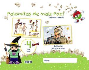 PALOMITAS DE MAIZ POP !  4 AÑOS  1º TRIMESTRE BILINGUE ED. 2018