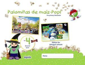 PALOMITAS DE MAIZ POP !  4 AÑOS  2º TRIMESTRE ED. 2018