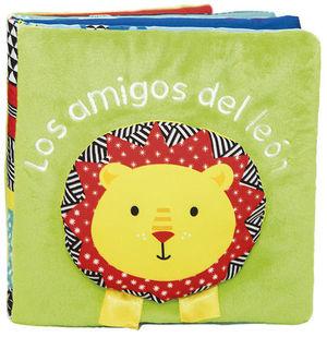 LOS AMIGOS DEL LEON.  LIBRO DE TELA