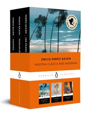 EMILIA PARDO BAZÁN (PACK QUE INCLUYE: CUENTOS, LOS PAZOS DE ULLOA E INSOLACIÓN