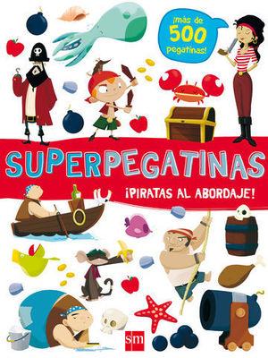 SUPERPEGATINAS DE PIRATAS AL ABORDAJE