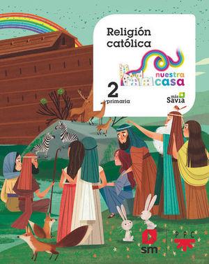 RELIGION 2º EP  MAS SAVIA  ED. 2018