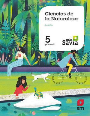 CIENCIAS DE LA NATURALEZA 5º EP ARAGON MAS SAVIA  ED. 2018