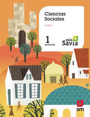 CIENCIAS SOCIALES 1º EP ARAGON MAS SAVIA  ED. 2018
