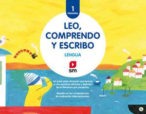 LENGUA :  LEO, COMPRENDO Y ESCRIBO 1º EP  ED. 2018