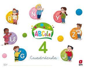 LECTOESCRITURA 4 ABCOLE CUADRICULA