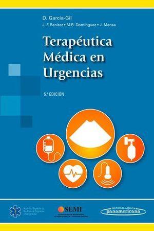 TERAPEUTICA MEDICA EN URGENCIAS 5ª ED.