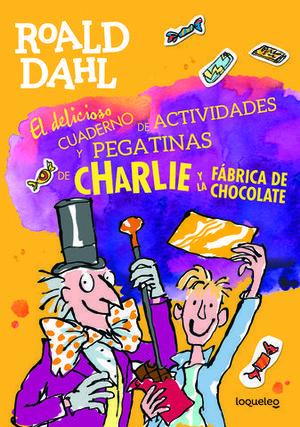 CHARLIE Y FABRICA CHOCO. LIBRO PEGATINAS