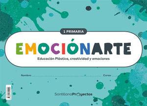 CUADERNOS Y FICHAS EMOCIONARTE PRIMERO DE PRIMARIA