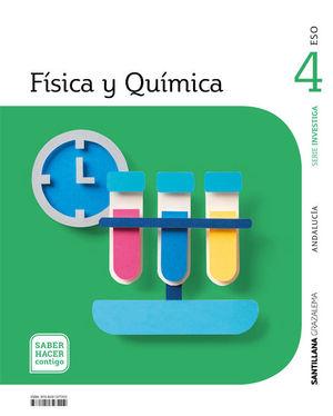 FISICA Y QUIMICA SERIE INVESTIGA 4 ESO SABER HACER CONTIGO