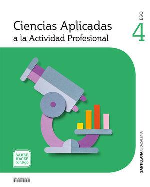 CIENCIAS APLICADAS ACTIVIDAD PROFESIONAL 4 SECUNDARIA GRAZALEMA
