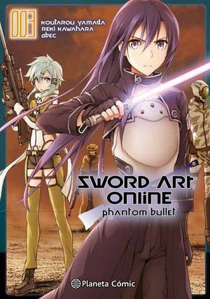 SWORD ART ONLINE PHANTOM BULLET 3
