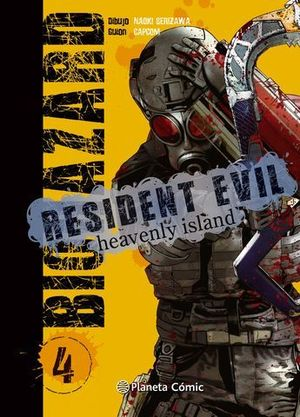 RESIDENT EVIL:  HEAVENLY ISLAND 4