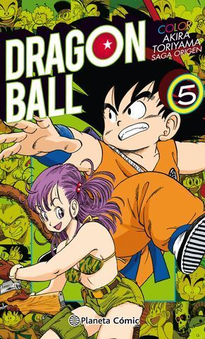 DRAGON BALL COLOR ORIGEN Y RED RIBBON 5