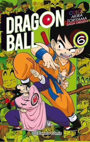 DRAGON BALL COLOR ORIGEN 6